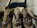 Deslizadores planos de las mujeres de la manera, mujeres planas para las sandalias, 8000pairs