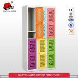 De kleurrijke Aangepaste Onverbrekelijke Populaire Kast van het Personeel van de Arbeider van het Kantoormeubilair van het Metaal Functionele