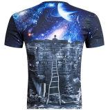 صنع وفقا لطلب الزّبون نمو [3د] طباعة [ت] قميص لأنّ رجال