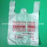 Les sacs en plastique HDPE Vest Sacs Sacs de T-Shirt