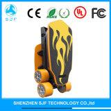 يضاعف كهربائيّة يطوي لوح التزلج مع أربعة عجلات إدارة وحدة دفع