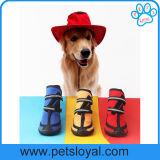 Fabricante de alta calidad impermeable mascota perro botas zapatos
