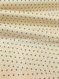 Законченный хлопок ткани/звезда поплина волокна полиэфира голубая маленькая