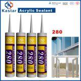 Calafateo blanco del alto rendimiento, sellante de acrílico (Kastar280)
