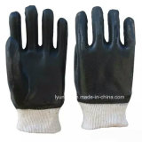 """10,5"""" с другой стороны ПВХ безопасности рабочие перчатки"""