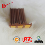 D / P / E Forme auto-adhésive Porte Edge Gap Weather Resistance Seal Strip