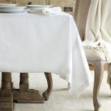 Blanco 100% Cotton Hotel Mantel Servilleta / Mantel (DPFR80125)