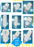 Lâmpada de vidro cheia do bulbo da energia da economia da espiral T5 60W E27