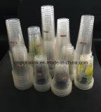 Plastik 500ml höhlt pp.-Wegwerfplastikcup-Firmenzeichen-Drucken