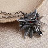 Witcher 3 de de Wilde Tegenhanger van het Medaillon van de Jacht en Halsband van de Ketting