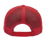 方法泡および網のトラック運転手の帽子の赤い純帽子