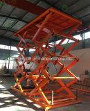 Type de ciseaux levage hydraulique de véhicule de levage de grande capacité avec du CE