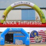 Archway inflável comercial com anúncio toda impresso