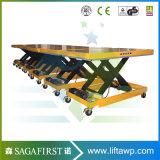 1 la tonne à 3 tonne Atelier personnalisé stationnaire encastré table élévatrice à ciseaux