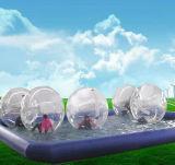كرة قابل للنفخ كرة شفّافة لأنّ يعلن/يزيّن