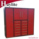 Personalizar el diseño del armario de almacenamiento de metal con candados y hardware para la venta