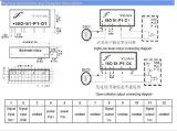 Señal de onda de diente de sierra de onda senoidal de bajo coste de transmisor de aislamiento doble IC Sy S4-P2-S2