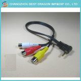 Alimentation CC Rallonge de câble AV audio vidéo RG59 pour la Vidéosurveillance Caméra de sécurité