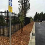 Powder Iron Fence Company Black Galvanized