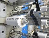 PE en plastique automatisé à grande vitesse, animal familier, filé plat de bande de pp expulsant étirant la machine pour le PE, animal familier, réseau de Bag&Jumbo Bag&Sunshade de maille de &Leno de sac tissé par pp