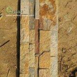 Chapa oxidada de la piedra de la cuarcita, cuarcita de la piedra del revestimiento de la pared