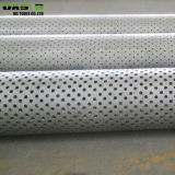 Aço inoxidável austenítico 304 tubulações perfuradas da tela da embalagem