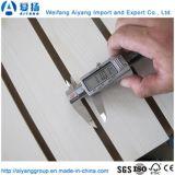 12 мм/15 мм /18мм меламина, с которыми сталкиваются MDF/Slatwall с прорезями