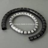 Novo PE espiral plástica Finalização fácil de cabo de banda de cintagem