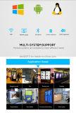 Qualität 32 Zoll-transparente bekanntmachende Maschinen-heller Kasten-Bildschirmanzeige