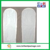卸し売りPEVAの物質的な方法ウェディングドレス袋