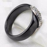De nieuwe Witte Zwarte Ceramische Ringen van de Manier voor Vrouwen