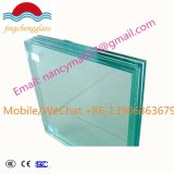 8.76m m claros y colorean el vidrio laminado templado seguridad Inferior-e con alta calidad