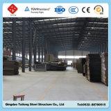 Taller prefabricado de la estructura de acero de la luz de la construcción