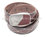 Chine OEM New Design Exotic Fashion Men's Leather Belt Wholesales