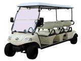 Venta caliente 6 asientos de carros de golf eléctrico