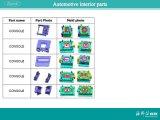 Conoleの自動車プラスチック部品(A0316020)のための注入型