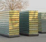 絶縁された耐火性の鋼鉄岩綿のサンドイッチボードの屋根は屋根ふきのパネルにパネルをはめる