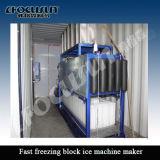 Pequeña máquina del fabricante del hielo del bloque