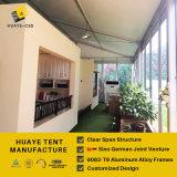 不動産(hy055g)のための高い最高にされた玄関ひさしのテントのイベント