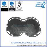 Molde/molde para el guarnecido interior del coche de la consola central doble Portavasos