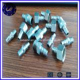 Coupleur rapide de garnitures pneumatiques droites d'acier inoxydable de la Chine