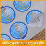 Kundenspezifische Firmenzeichen-Aufkleber Brown-Kraftpapier