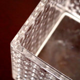 De vidro transparente Square Vela Votiva Titulares