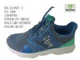 Numéro 51897 Sport Shoes Stock Shoes de trois de couleurs Madames