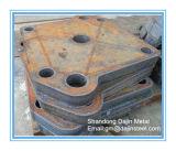 Stark 500 Platten-haltbare Stahlplatte für Hartglas