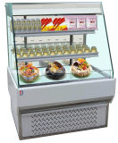 Frente al estilo europeo tarta sándwich abierto Mostrar Chiller nevera