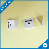Contrassegni di lavaggio di stampa piegati centro per gli accessori degli accessori
