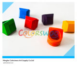 6 colore 3D Creative Ring Sharp Crayons per Students e Kids