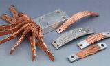 カスタム適用範囲が広い銅のグラウンドストラップ25mmの電気バス・バーのコネクター