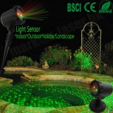 Laser ao ar livre do Natal da felicidade do chuveiro do laser da estrela da noite de China